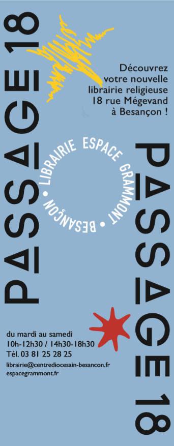 librairie religieuse Besançon Passage 18
