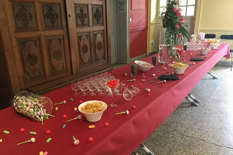 salle cocktail, séminaire Besançon